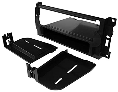 Aerzetix: Adaptateur Autoradio Façade Cadre Réducteur 1DIN pour auto