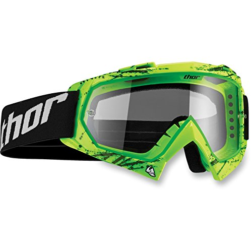 Thor Enemy Splatter Kinder Motocross Brille Enduro Offroad Cross Mx Sx Quad Blau Rot Weiß Blau Grün - Atv Kinder Helm Blau