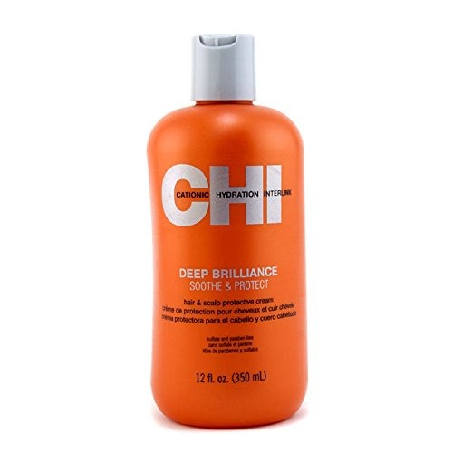 CHI Deep Brilliance Soothe & Protect Hair & Scalp Protective Cream 350ml