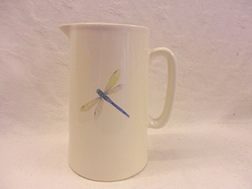 Dragonfly 2 Pint Jug By Heron Cross Pottery
