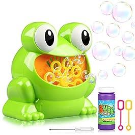 Bolle di sapone, Joylink Portatile Macchina a bolle Macchina bolle di sapone elettrica Macchina per Bolle di Sapone…