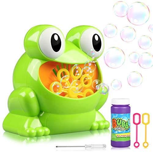 (Bubble Machine, Estela Seifenblasenmaschine Kinder Seifenblasenmaschine Macher)