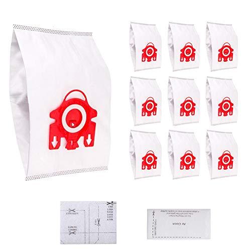 Confezione da 10 sacchetti e 2 filtriper per miele aspirapolvere serie f/j/m hyclean 3d efficiency