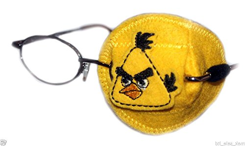 eye-patch-kids-orthoptic-per-amblyopia-lazy-eye-occlusion-trattamento-terapeutico-angry-birds-yellow