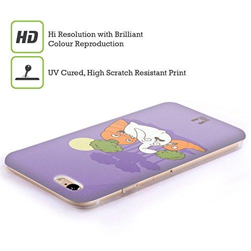 Head Case Designs Snitch Oscar E Howard Nero E Bianco Cover Morbida In Gel Per Apple iPhone 6 Plus / 6s Plus Carrot Revenge