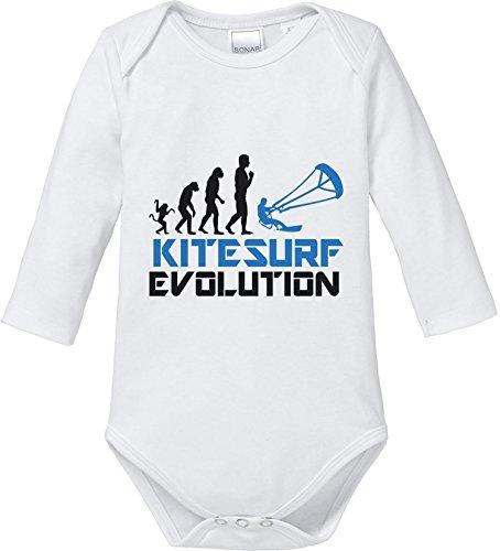 EZYshirt® Kitesurf Evolution Baby Body Longsleeve (Flex Bar Body)