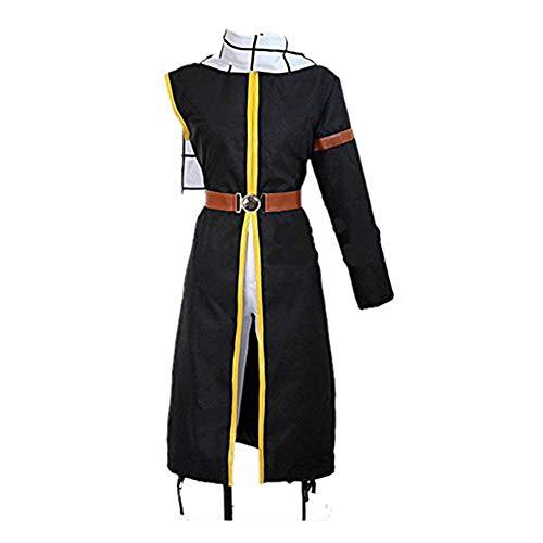 Fairy Tail Kostüm Natsu - Sunkee Anime Fairy Tail Natsu Outfit mit Schal Cosplay Kostüm, Größe L ( Alle Größe Sind Wie Beschreibung Gesagt, überprüfen Sie Bitte Die Größentabelle Vor Der Bestellung )