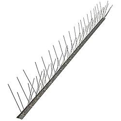 Pinchos anti palomas 80 puntas de acero inoxidable AISI 304 , caja de 25 unidades