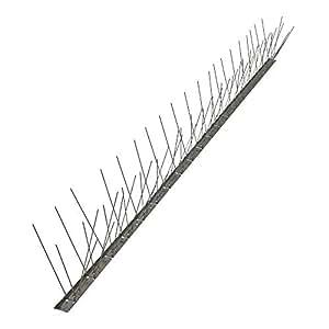 Dissuasori per volatili anti piccioni 80 punte acciaio for Dissuasori piccioni amazon