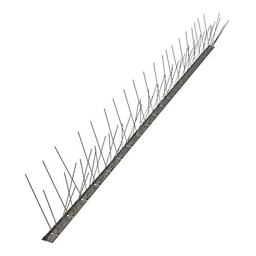 Dissuasori per volatili anti piccioni 80 punte Acciaio inox AISI 304 flessibile...