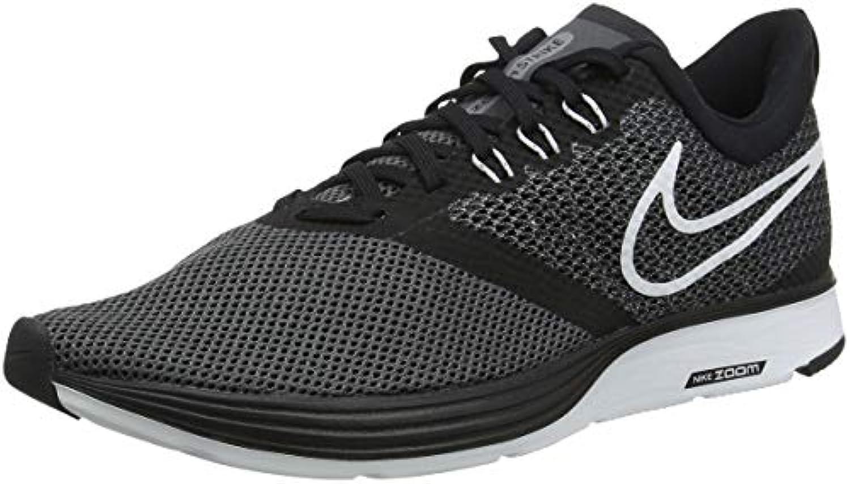 nike zoom grève hommes trail trail hommes des chaussures de course, Noir  (noir / blanc / gris foncé / anthracite 001), 47,5 ue 828b0b