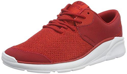 Supra Damen Noiz Sneakers Rot (RED - WHITE 602)