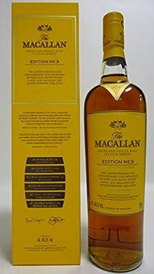Macallan - Edition 3 - Roja Dove - Whisky