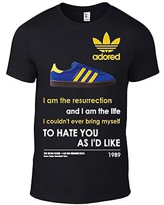 Stone Roses RESURRECTION T-Shirt & image of Adidas STOCKHOLM Trainer Band BLACK
