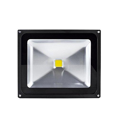 10W 20W 30W 50W 100W 150W 200W 300W Projecteur à LED Projecteur lampes projecteurs extérieure IP65 Blanc Chaud LED(50w)