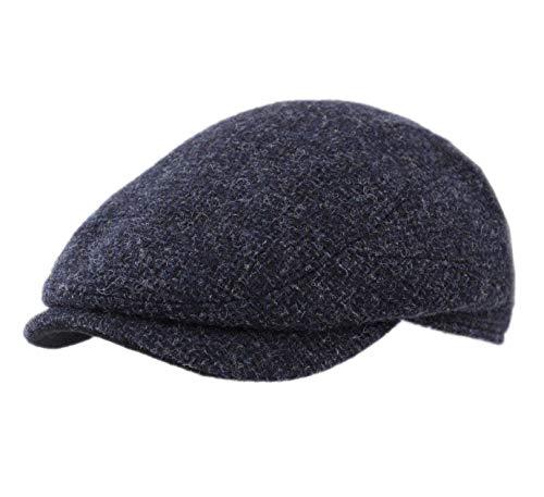 Stetson - Béret - Casquette Plate Homme ou Femme Driver Cap Wool