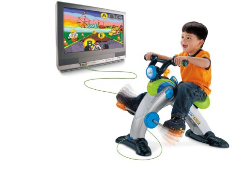 Fisher-Price SMART CYCLE Racer Physical Learning Arcade System by Fisher-Price