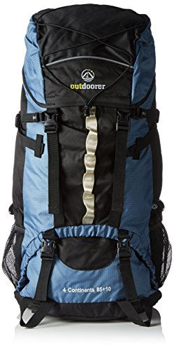 Outdoorer Backpacker Rucksack 4 Continents 85+10, 95l, 2,3kg