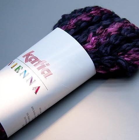 Katia vienna schalwolle effektwolle granules de laine d'alpaga mélangées 50 g 122