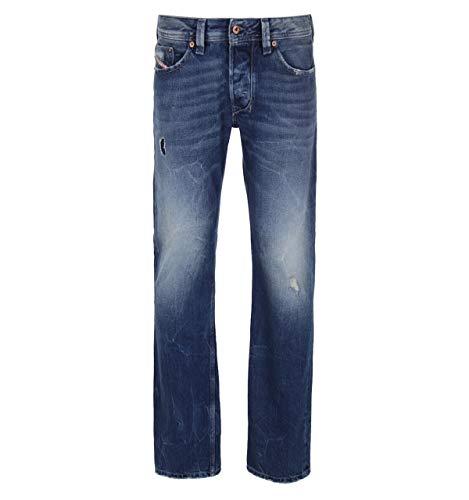 Diesel Jeans Larkee R5W88 dunkelblau verwaschen Used Look (33/32)