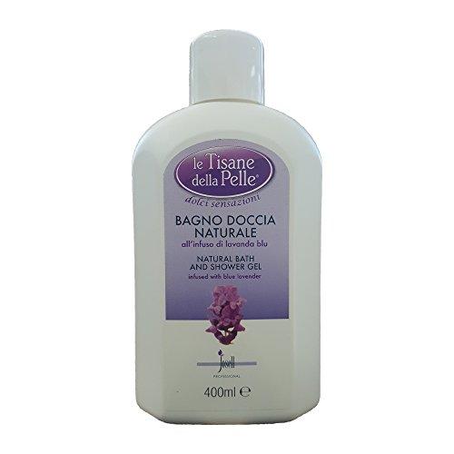 TISANE DELLA PELLE Bagno Doccia Naturale AllInfuso Di Lavanda Blu 400 ml
