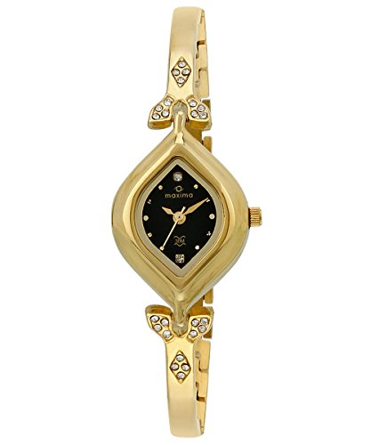 Maxima Analog Black Dial Women's Watch - 22384BMLY image