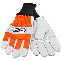 VonHaus Larges gants de protection pour tronçonneuse – 16m s (Orange    blanc) f5afcf724f9e