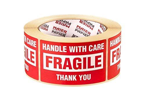 500 x frágil manejar con cuidado del envío