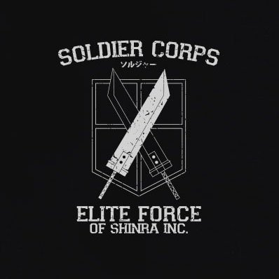 TEXLAB - Soldier Corps Elite Force - Herren T-Shirt Braun