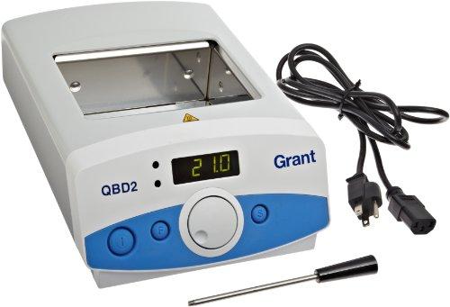 Grant Instruments QBD2L Heizgerät, digital, Präzision, 2 l, 120 V, 5 bis 130 Grad C