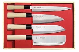 Set de 4 couteaux Japon Sekiryu