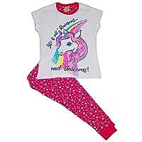 Girls Unicorn Short & Long Pyjamas Younger to Teens