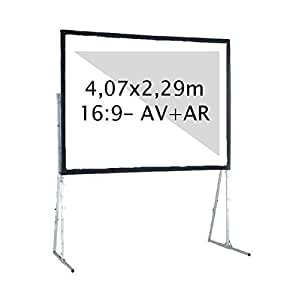 KIMEX 3700685403345–écran de proyeccion avant + retroproyeccion 4,07x 2,29m 16: 9Notebook