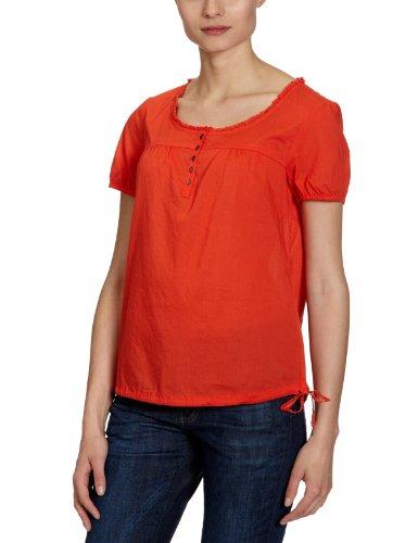 MEXX Damen Bluse, N1ME5082, Gr. 40 (L), Rot (822)