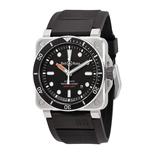 Bell and Ross Diver orologio automatico da uomo BR0392-D-BL-ST/SRB
