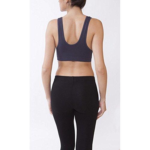 Midi Shopping - Brassiere Sport Femme Bandeau Droit Pas Cher 1039 Gris