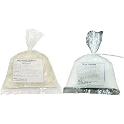 Epsom Bath Salts and Magnesium Chloride Flakes Combo (500 gm)