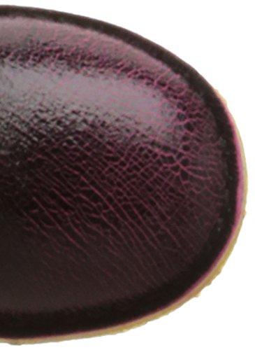 Kickers Cresis, Bottes Classiques fille Rose (Fuchsia/Noir)