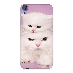 Kitten Family Back Case Cover for HTC Desire 820