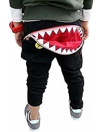 Malloom® Enfants Enfants Garçons Filles Pantalons Tirette Dents De Requin De Harem Pantalon