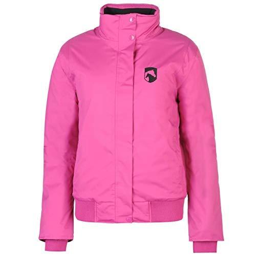 Requisite Blouson Jacke Damen Equestrian Pferd Reitjacke Oberbekleidung - Rosa, UK 16 (XLarge)