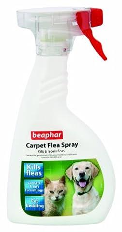 Beaphar Carpet Flea Spray Kills and Repels Fleas, 400 ml