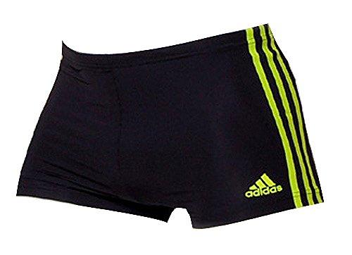 Adidas Boyshort black/lime schwarz - 6 (Boyshorts Boxer)