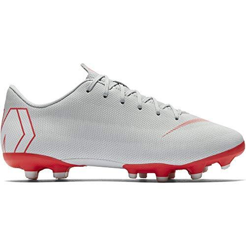 Nike Unisex-Kinder Mercurial Vapor XII Academy MG Fußballschuhe, Grau (grau/rot grau/rot), 36 EU