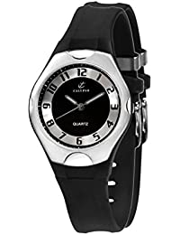 Calypso 5162/2 - Reloj de caballero de cuarzo, correa de goma color negro