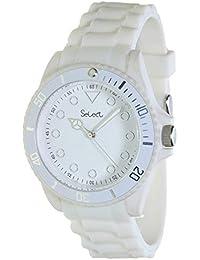 c65b236dadce Select Lw-20-01 Reloj Analogico para Mujer Caja De Resina Esfera Color  Blanco