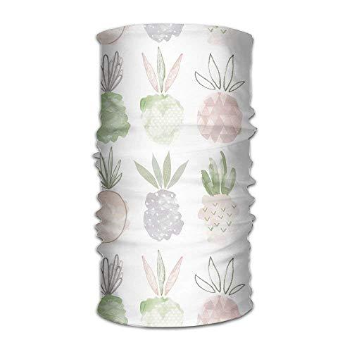 Yuerb Sturmhauben Magic Headwear Art Pineapple Outdoor Scarf -