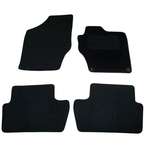 Sakura Car Mats for Citroen DS4 and C4 Fits Models 2010 Onwards - Black