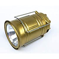 مصباح التخييم اضاءة ال اي دي يعمل بالطاقة الشمسية وقابل للشحن، وبنمفذ يو اس بي