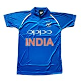 #10: HeadTurners Indian Cricket Team ODI Jersey T-Shirt- Blue